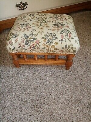Small Vintage Wooden foot stool