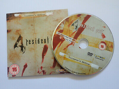 Resident Evil 4 Collector's Edition - Making Of Dvd & Artbook Game Exclusive