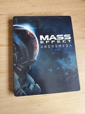 EA Mass Effect: Andromeda Xbox One Ps4 PC Steelbook Steel Case