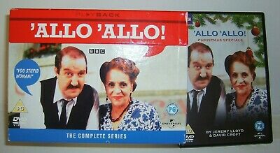 ALLO - ALLO THE COMPLETE 9 SERIES ON 16 DISCs EVERY EPISODE + XMAS SPECIALS.