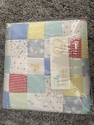BNWT Little Bird Mothercare Patchwork Quilt Cot Cot Bed Size Jools Oliver