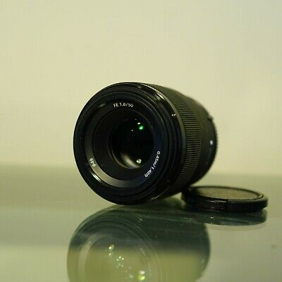 Sony FE 50 mm F/1.8 f1.8 FE lens for Sony E-mount - Black