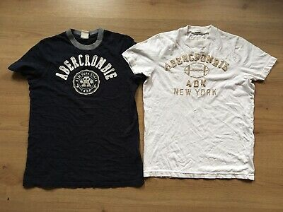 Bundle of boys ABERCROMBIE & FITCH t-shirts size XL age 13 years