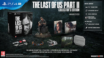 The Last of Us Part II Collector's Edition PlayStation 4 PS4 NO GAME