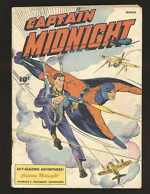 Captain Midnight # 38 VG Cond.
