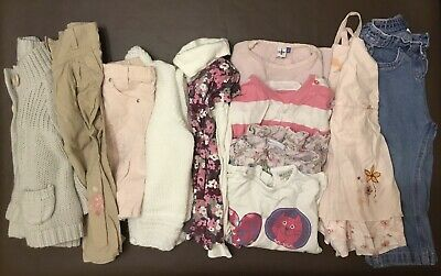 Girls clothes (bundle 1) age 2-3 years. 11 Items. Matalan, Indigo, Next Etc.