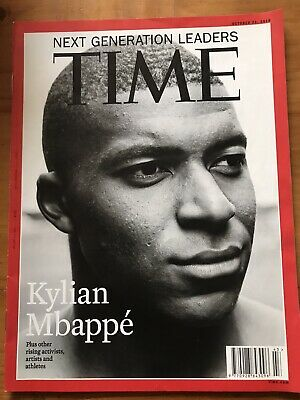 Rare TIME Magazine 2018: Next Generation Leaders: Kylian Mbappe, Football, BTS
