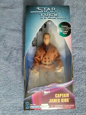 Star Trek Playmates KB Exclusive Captain Kirk City On The Edge Of Forever 9""
