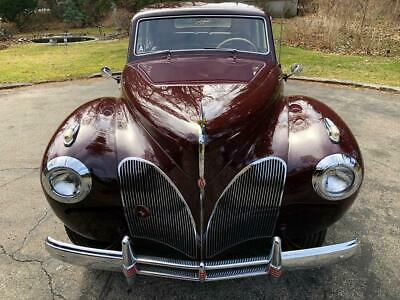 1941 Lincoln Continental  1941 Lincoln Continental Coupe -Concours Restoration-Maroon -V12 -1 of 850