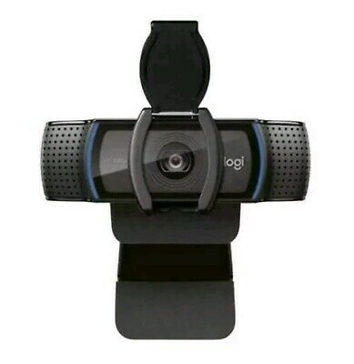 IN HAND & FREE SHIPPING! Logitech C920s Pro HD Webcam with Privacy Shutter!