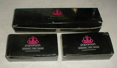 Lot-3 box PAPARAZZI Jewelry Sales Consultant Pegboard Black-Clear Display HOOKS
