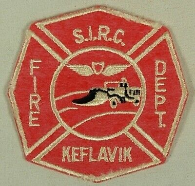 Us Naval Station Keflavik Iceland Sirc Fire Department Patch