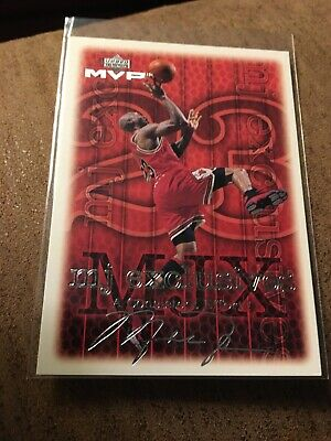 1999-00 Upper Deck MVP Michael Jordan MJ Exclusives Silver Script #197 Mint
