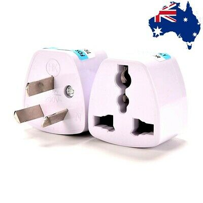 AU Universal Power Plug Outlet Converter Travel Charger Adapter UKUSEU