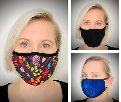 Face Mask virus reusable Washable Mouth cover Cotton filter non medical surgical