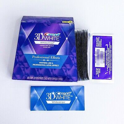 Crest3D Teeth Whitening Strips LUXE Professional Effects UK