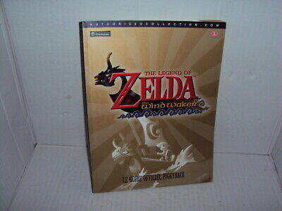 guide rare du jeu nintendo game cube ZELDA THE WIND WAKER gamecube