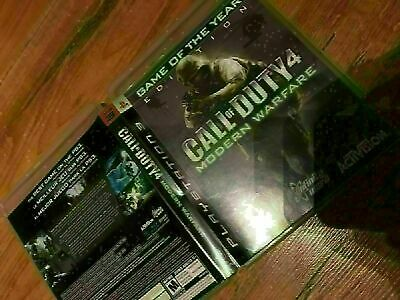 Call Of Duty 4 Modern Warfare Game Of Year - Playstation 3 - No Disc Case Only
