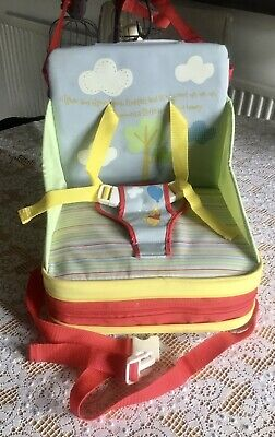 Toddler Sit At Table Booster Seat, Portable Chair Winnie The Pooh Design.