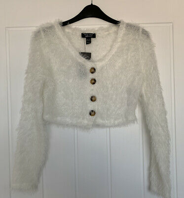 Girls NewLook Cropped Cardigan Age 10-11 Years
