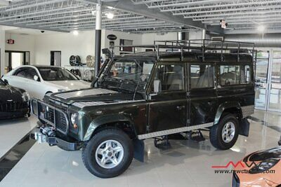 1983 Land Rover Defender 110-Diesel Green Land Rover Defender with 26,499 Miles available now!