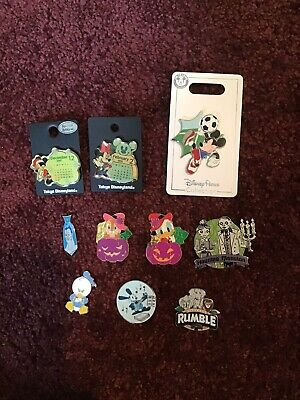 Authentic Disney Pins Lot Of 10!!!!! Will Combine Shipping