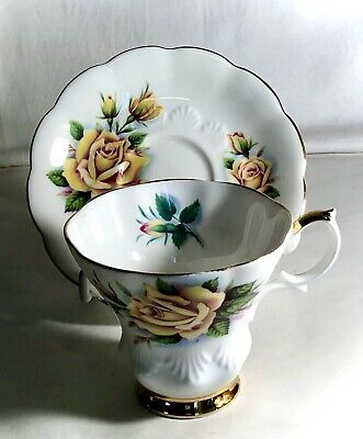 """Royal Albert Sweetheart Roses Series """"Rosemary"""" Cup And Saucer"""