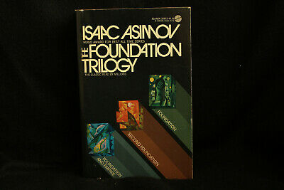 The Foundation Trilogy Isaac Asimov Like New Free Shipping