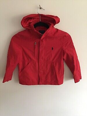 Polo Ralph Lauren Girls Rain Jacket Size 6 Years Great Condition Bargain