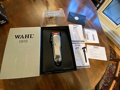 Wahl 100 Year Anniversary Limited Edition 1919 Clipper Set-Fast Neu-in der Box