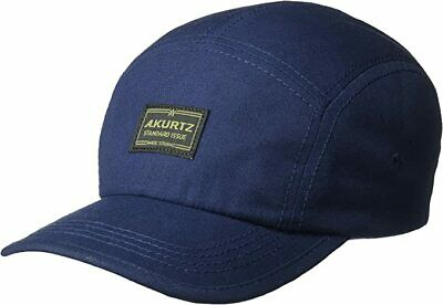 A. Kurtz Men's Admiral Camp Cap Adjustable Hat Infantry Blue New with Tags