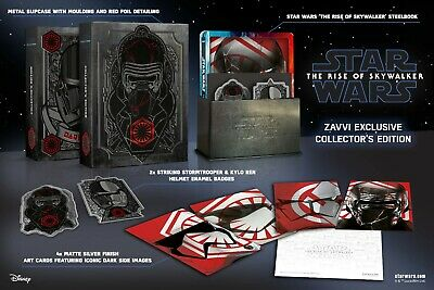 Star Wars IX: The Rise of Skywalker [Blu-ray 3D, 2D Steelbook Collector - Zavvi]
