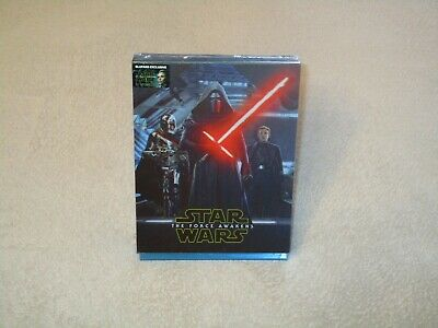 Star Wars VII: The Force Awakens [Blu-ray 3D & 2D Steelbook - DL - Blufans BE40]