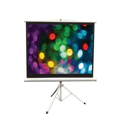 Pyle 50 in. Floor-Standing Portable Tripod Manual Projector Screen