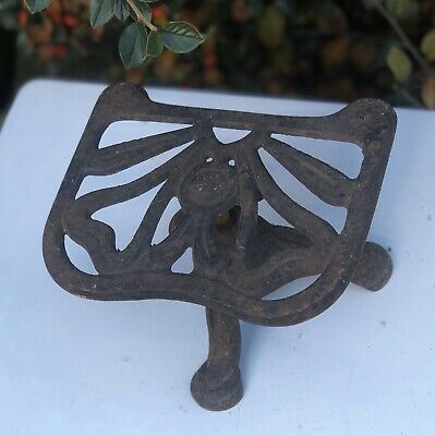 Antique Cast Iron Stand Holder Trivet Tripod