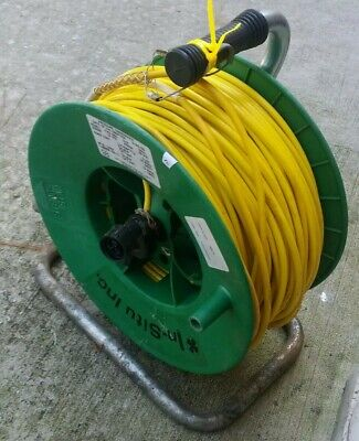 In Situ Quick Connect Rugged Cable, 300 ft Polyurethane