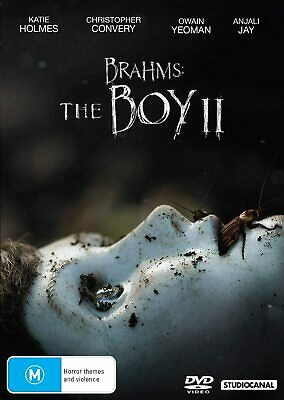 BRAHMS: THE BOY II 2 (2020): Drama, Horror, Mystery, Katie Holmes NEW Au Rg4 DVD