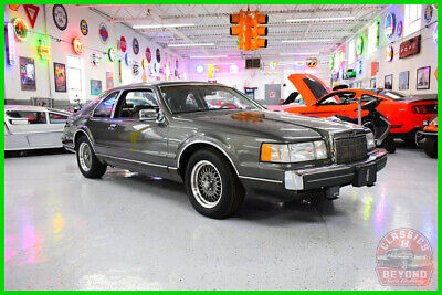 1990 Lincoln Mark Series LSC 1990 LSC Used 5L V8 16V Automatic RWD Coupe Premium