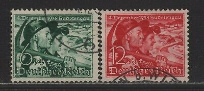 Germany B132-B133 VF Complete