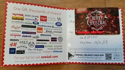 One4all Gift Card £20