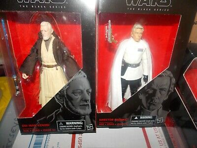 6 Inch Mint On Card Star Wars the Black Series 27 Director Krennic