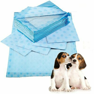 25 Puppy Pads Dog Pet Toilet House Training Wee Potty Mats Cat Poo Pad 60x60cm