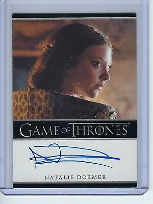 2012 Game of Thrones Natalie Dormer as Margaery Tyrell Autograph Auto