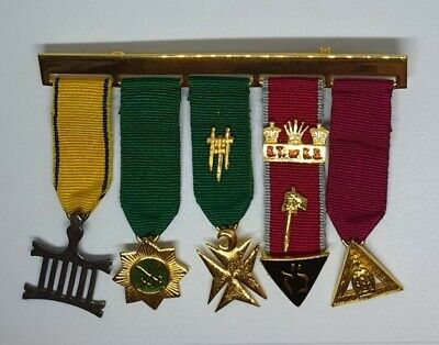 Allied Masonic Degree Jewels - very good clean condition