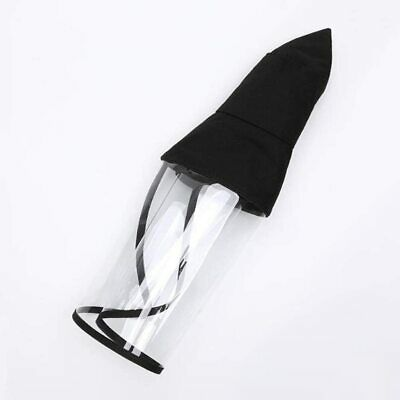 Safety Full Face Screen Clear Protector Anti-Fog with hat 12+ Year fisherman hat