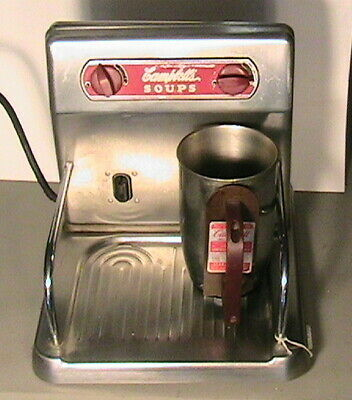 1949 Campbells Soup Lunch Counter  Warmer