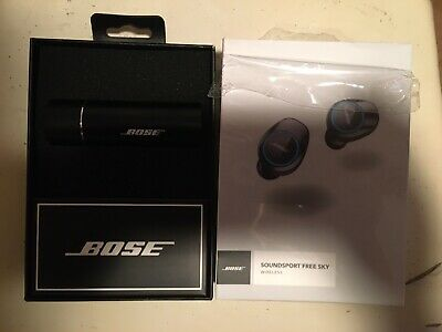 Bose Soundsport Free Sky Wireless Earbuds IPX4-black