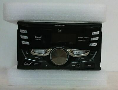 Dual DXRM57BT Double-DIN In-Dash 200W AM/FM Receiver with Bluetooth $90 - READ