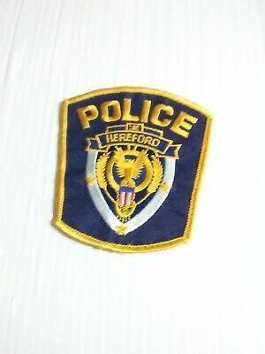 Hereford Police Patch