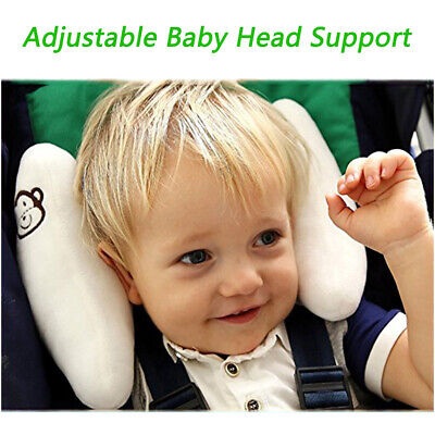 Adjustable Baby Soft Head Neck Support - Children Travel Car Seat Safety Pillow